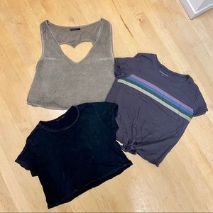 Brandy Melville American Eagle crop top bundle
